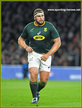 Thomas du TOIT - South Africa - International Rugby Caps.