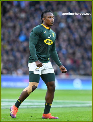 S'busiso NKOSI - South Africa - International Rugby Caps.