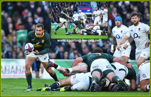 Ivan van ZYL - South Africa - International Rugby Union Caps.