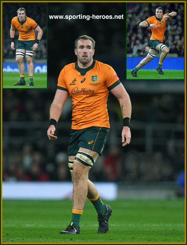 Izack RODDA - Australia - International Rugby Caps.