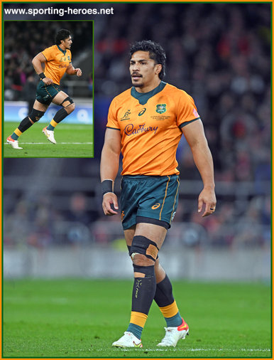 Pete SAMU - Australia - International Rugby Caps.