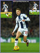 Harvey BARNES - West Bromwich Albion - League appearances.