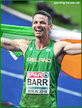 Thomas BARR - Ireland - Bronze medal in 400m Hurdles at 2018 European Championships.