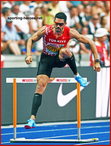 Yasmani COPELLO - Turkey - Silver medal at 2018 European Championships 400mh.