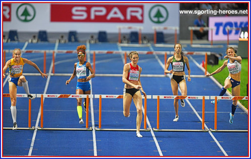Meghan BEESLEY - Great Britain & N.I. - Bronze medal in 400m Hurdles at 2018 European Championships.