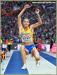 Maryna BEKH - Ukraine - Long jump silver medal at 2018 European Championships.