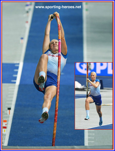 Holly BRADSHAW - Great Britain & N.I. - European bronze pole vault medal in 2018