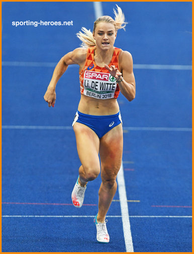 Lisanne de WITTE - Netherlands - Bronze medal in 400m at 2018 European Championships.