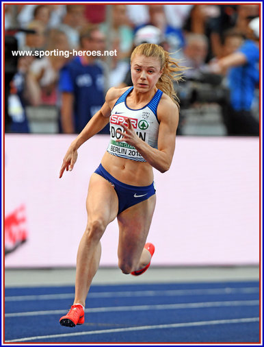 Beth DOBBIN - Great Britain & N.I. - Finalist in 200m at 2018 European Championships.