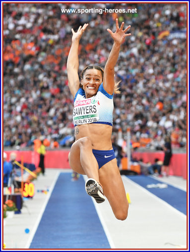 Jazmin  SAWYERS - Great Britain & N.I. - Fourth at 2018 European Championships in Berlin