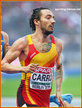 Fernando CARRO - Spain - Silver medal in steeplechase at 2018 European Championships.