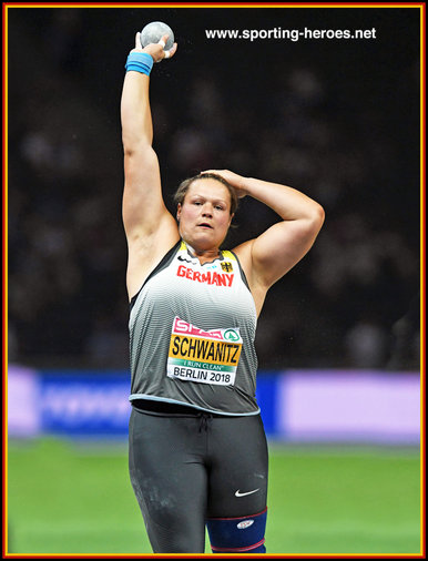 Christina SCHWANITZ - Germany - Silver medal at 2018 European Championships in Berlin