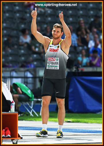 Andreas HOFMANN - Germany - Silver medal at 2018 European Championships.