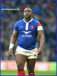 Demba BAMBA - France - International Rugby Caps.