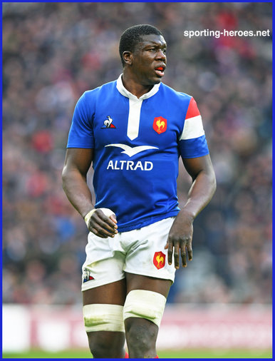 Yacouba CAMARA - France - International Rugby Union Caps.