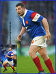 Dorian ALDEGHERI - France - International Rugby Union Caps.
