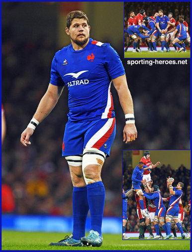 Paul WILLEMSE - France - International Rugby Caps.