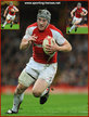 Jonathan DAVIES - Wales - International Rugby Caps. 2009-2013