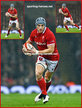 Jonathan DAVIES - Wales - International Rugby Union Caps. 2018 -