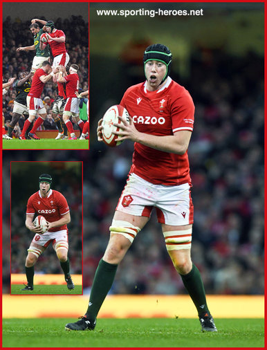 Adam BEARD - Wales - International Rugby Union Caps.