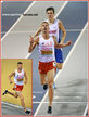 Marcin LEWANDOWSKI - Poland - A second 1500m European Indoor Championship win.