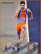 Joris van GOOL - Netherlands - 3rd in 60m at European Indoor Championships.
