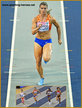 Dafne SCHIPPERS - Netherlands - 60m silver medal at 2019 European Indoor Championships.