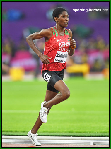 Alice Aprot  NAWOWUNA - Kenya - 4th in 10,000m at 2017 World Championships.
