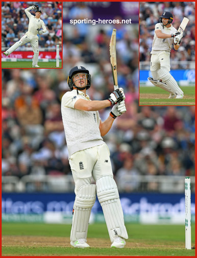 Jos BUTTLER - England - 2018 Test matches against India.