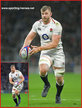 George KRUIS - England - International Rugby Caps. 2019-