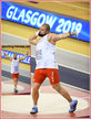 Michal HARATYK - Poland - 2019 European Indoor shot put champion.