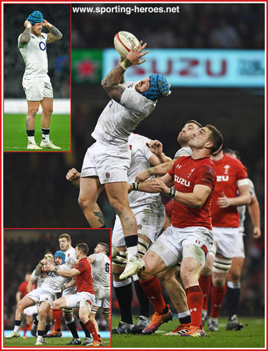 Jack NOWELL - England - International Rugby Caps. 2019-