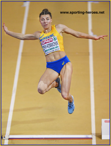 Maryna BEKH - Ukraine - Bronze medal at 2019 European Indoor Championships