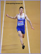 Miltiadis TENTOGLOU - Greece - 2019 European Indoor long jump Champion.