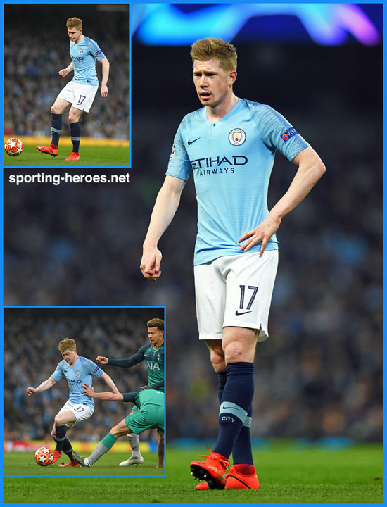 finest selection 8b91f 2ed2a Kevin De BRUYNE - 2018/2019 Champions League. - Manchester ...