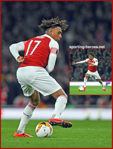 Alex IWOBI - Arsenal FC - Europa League.  K.O. games in 2019.