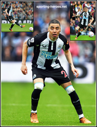 Miguel ALMIRON - Newcastle United - League Appearances