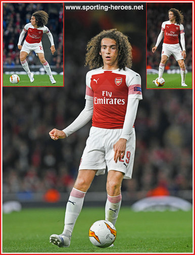 Matteo GUENDOUZI - Arsenal FC - Europa League. 2019 K.O. games.