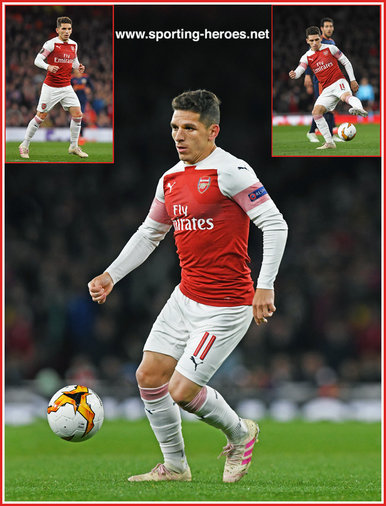 Lucas TORREIRA - Arsenal FC - Europa League. 2019 K.O. games.
