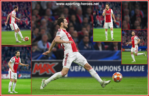 Daley BLIND - Ajax - 2019 Champions League K.O. games.