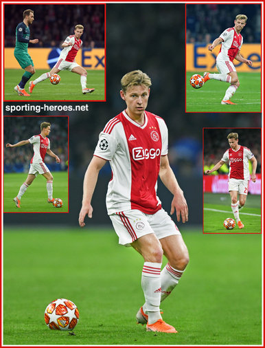 Frankie de JONG - Ajax - 2019 Champions League K.O. games.