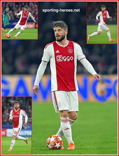 Lasse SCHONE - Ajax - 2019 Champions League K.O. games.