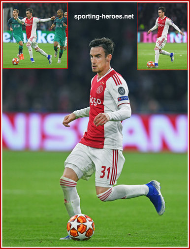 Nicolas TAGLIAFICO - Ajax - 2019 Champions League K.O. games.