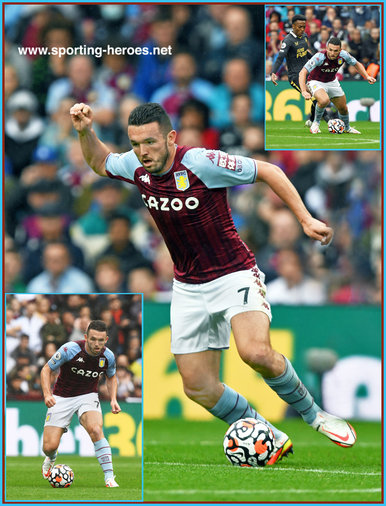 John McGINN - Aston Villa  - League Appearances