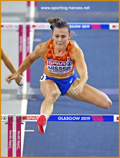 Nadine VISSER - Netherlands - 2019 European Indoor 60m hurdles champion.