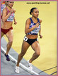 Renelle LAMOTE - France - 2nd. in 800m at 2019 European Indoor Championships.