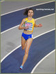 Olha LYAKHOVA - Ukraine - 800m bronze at 2019 European Indoor Champs.