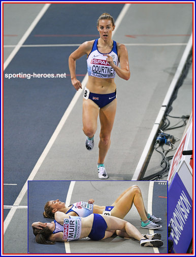 Melissa COURTNEY - Great Britain & N.I. - 3,000m bronze medal at 2019 European Indoor Champs.