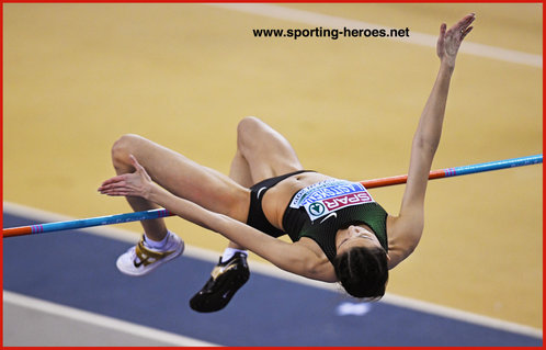 Mariya LASITSKENE - Russia - 2019 European Indoor high jump Champion.