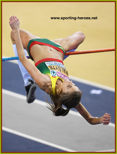 Airine PALSYTE - Lithuania - 3rd. at 2019 European Indoor Championships.